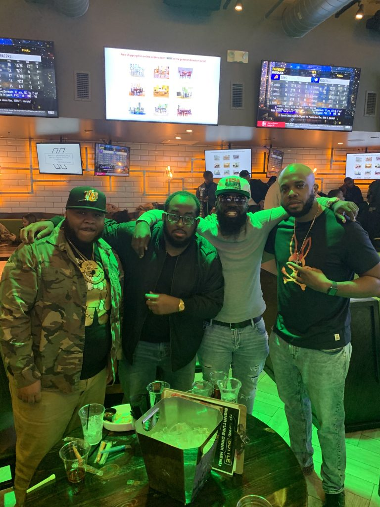 My LB's and I .. one night at Atomic Bottle